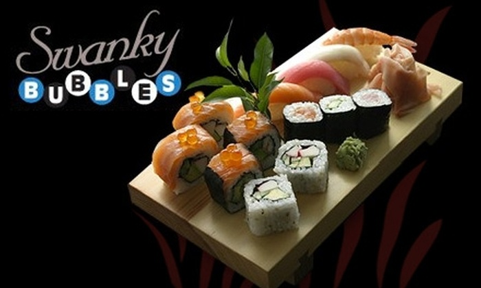 Swanky Bubbles - Center City East: $20 for $40 Worth of Sushi, Champagne, and More at Swanky Bubbles