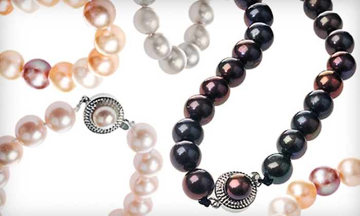 My Pacific Pearls': $79 for an 18-Inch Pearl Necklace from My Pacific Pearls ($450 Value)