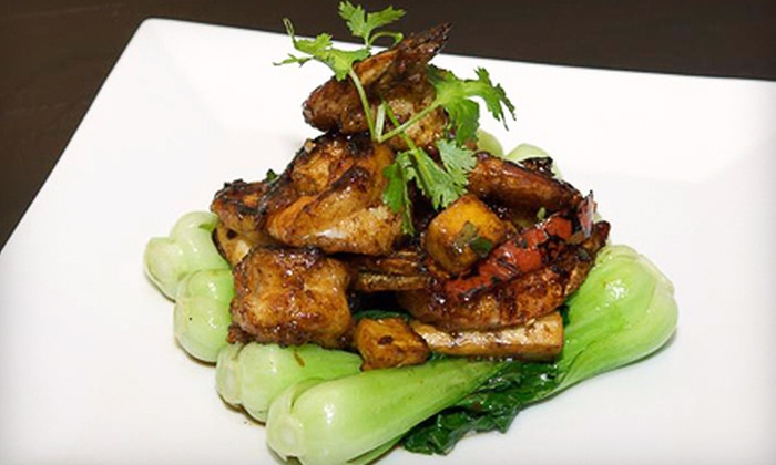 Wild Ginger - Turtle Bay,Beekman,Midtown South: $30 Worth of Asian Fusion Fare and Sushi