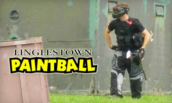 Linglestown Paintball - West Hanover: $20 for $40 Worth of Paintball Play and Rental Gear or Pro Shop Purchases at Linglestown Paintball