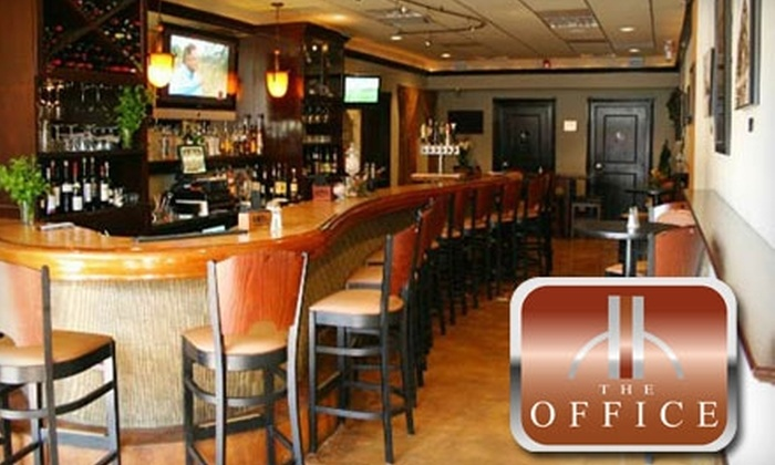 The Office Bistro and Lounge - North Hill: $10 for $20 Worth of Upscale Savories and Sips at The Office Bistro and Lounge