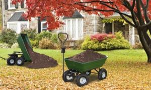 Chariot remorque de jardin