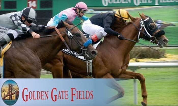 Golden Gate Fields - Berkeley Marina: $17 for Turf Club Admission, Program, Tip Sheet, and a $15 Food and Beverage Voucher at Golden Gate Fields in Berkeley (Up to $34.25 Value)
