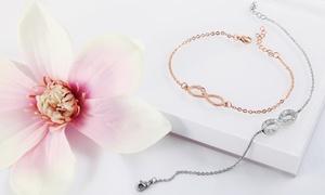 Bracelet charm infinity