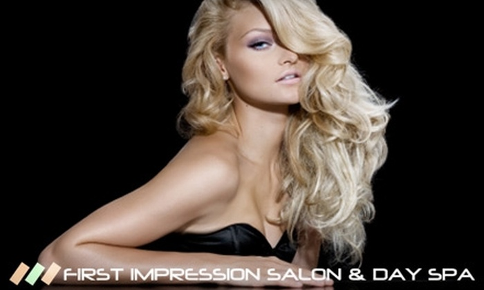 First Impression Salon & Day Spa - Gladstone: $25 for $75 Worth of Services at First Impression Salon & Day Spa in Gladstone