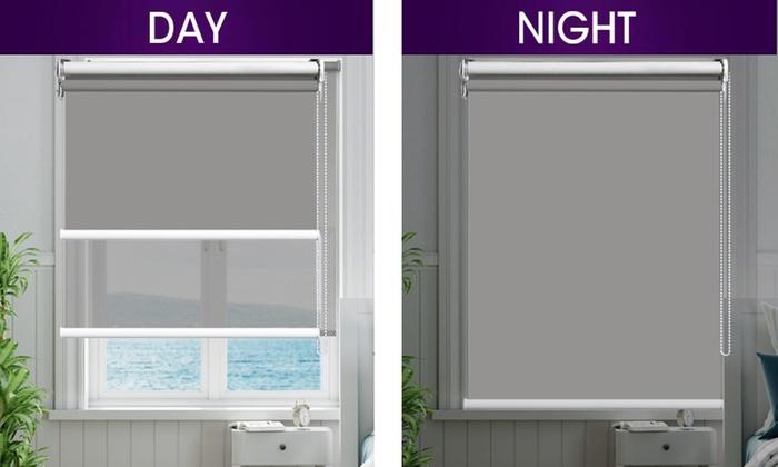 Жалюзи день-ночь в дизайне квартиры