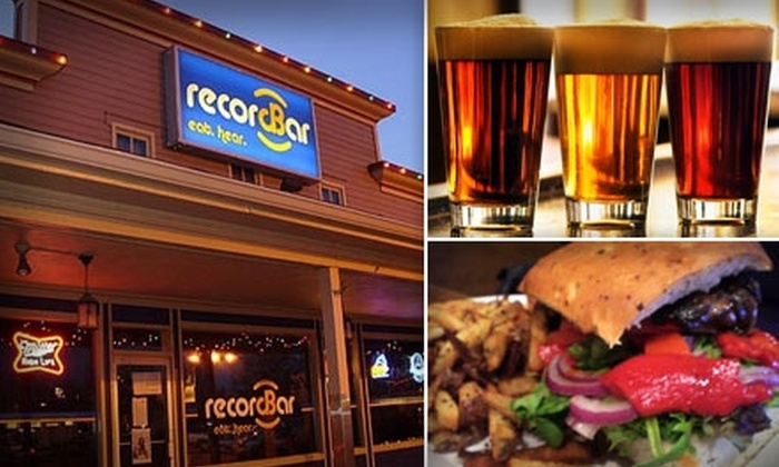 Record Bar - Old Westport: $8 for $16 Worth of Food, Drinks, and Live Music at Record Bar