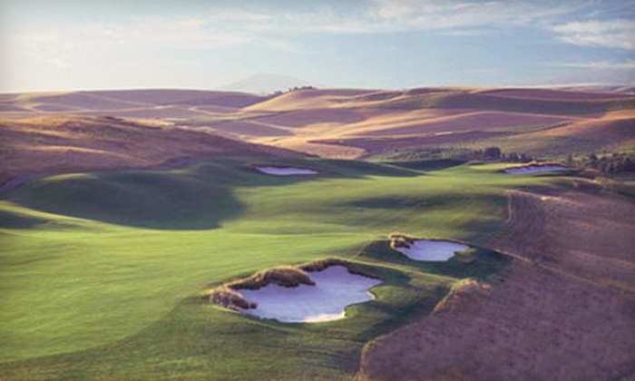 Palouse Ridge Golf Club - Pullman: $89 for 18 Holes of Golf for Two with Cart Rental at Palouse Ridge Golf Club in Pullman (Up to $200 Value)