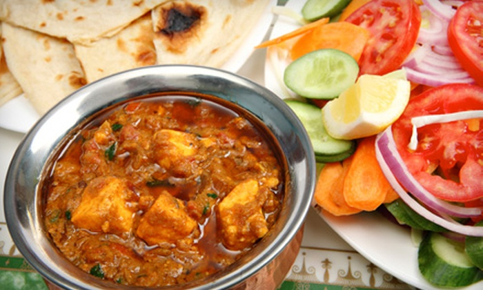 Maharaja Fine Indian Cuisine - Memphis: $14 for BYOB Dinner for Two at Maharaja Fine Indian Cuisine (Up to $28.46 Value)