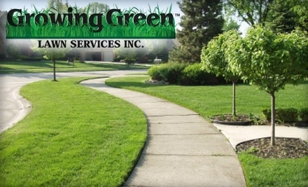 Growing Green Lawn Services Deal of the Day Groupon