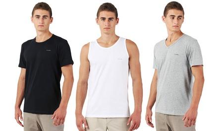 Packs de 3 camisetas de hombre Pierre Cardin con cuello redondo, cuello pico o sin manga
