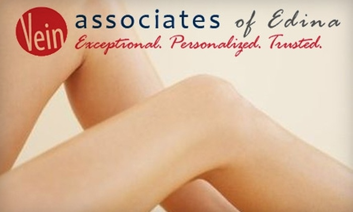 Vein Associates of Edina - Richfield: $99 for Two Non-Invasive Cosmetic Spider Vein Treatments at Vein Associates of Edina ($600 Value)