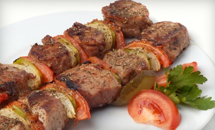 Dinner for Two (up to a $57.85 value) - S & H Kebab House in Philadelphia