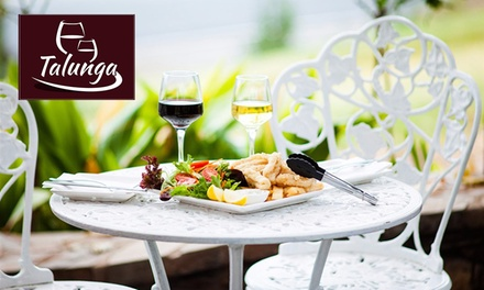 Chef's Speciality Platter with Wine for Two $29 or Four People $55 at Talunga Estate Up to $112 Value