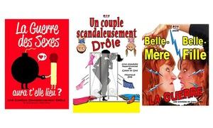 La Comédie de Nancy: 2 places pour un spectacle au choix à 18 € à la Comédie de Nancy