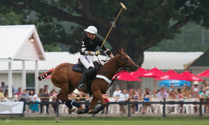Houston Polo Club - Houston Polo Club: Polo Match for Two on Any Sunday Between Now and November 15