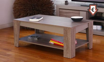 table basse arcangue groupon shopping. Black Bedroom Furniture Sets. Home Design Ideas