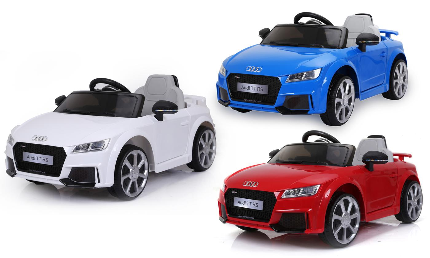 Audi TT RS-Style Electric Ride-On Car With Free Delivery