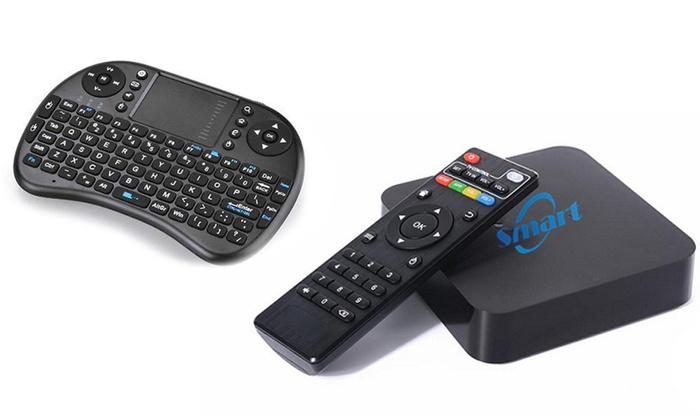 Groupon Goods Global GmbH: Mini Wireless Keypad for €14.99, Android TV Box for €39.99 or Both for €54.99 With Free Delivery (Up to 72% Off)