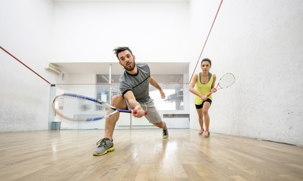 5, 10 of 15 keer squashen bij Squash 071 in Leiden