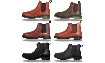12daf820917 Mens Red Tape Oaktrak Leather Chelsea Boots | United Kingdom ...