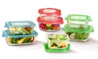 GlassFresh 10-Piece Food Storage Container Set