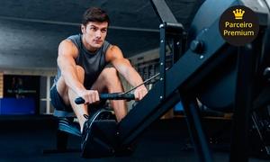 Academia Muscle Fitness: Academia Muscle Fitness: 1, 3 ou 6 meses de academia com ergometria, musculação e ABS