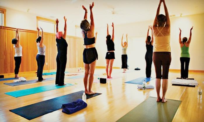 FlowYoga - Multiple Locations: 10 or 20 Yoga Classes at FlowYoga (72% Off)