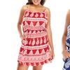 Umgee Plus Size Printed Tank Dress