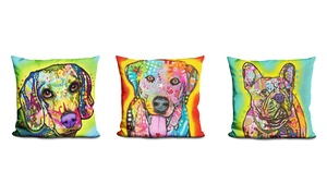 LiLiPi Dog Accent Pillow by Dean Russo