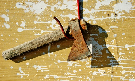 Tomahawk Axe Throwing Sessions for One or Two at Hazlewood or Ripley Castle (Up to 58% Off)