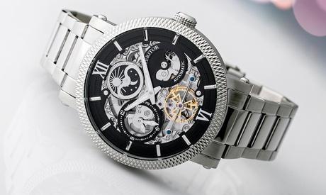 Reloj Aries de Heritor Automatic con dial de esqueleto