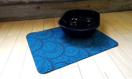 Microfiber Food or Litter Mat