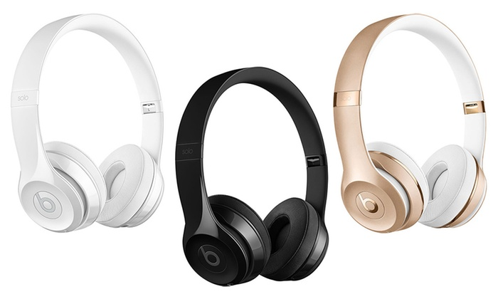 Up To 26 Off On Beats By Dr Dre Beats Solo3 Wir Groupon Goods