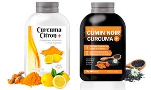 (Beauté)  Cure curcuma citron et cumin noir -81% réduction