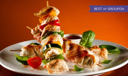 Two-Course Turkish Meal for Two or Four at A La Turka (Up to 51% Off)