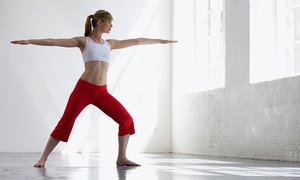 Yogini's: One Month of Unlimited Yoga Classes at Yogini's (Up to 74% Off)