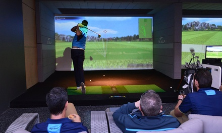 for OneHour Golf Simulator Experience with Pizza and Beer at Parkwood International Value