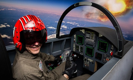 Jet Flight Simulator Experience: 30 $79 or 60 Mins $129 at Jet Flight Simulator Adelaide, Unley Up to $179 Value