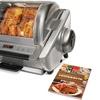 Ronco EZ Store Rotisserie Bundle with Bonus Cookbook
