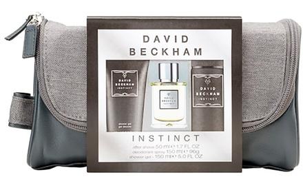 David Beckham Wash Bag Gift Set