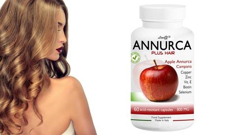 Bis zu 360 Tabletten Line@Diet Annurca-Apfel-Kapseln für Haar Haar