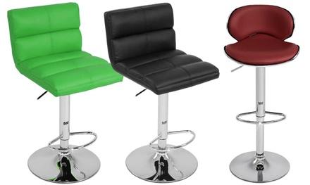 1 ou 2 tabourets de bar groupon. Black Bedroom Furniture Sets. Home Design Ideas