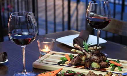 Spanish, Mediterranean, and French Tapas Dinner or Breakfast or Lunch for Two or More People at Village Bistro (40% Off)