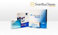Wertgutschein über 40 € anrechenbar auf Kontaktlinsen von SmartBuyGlasses
