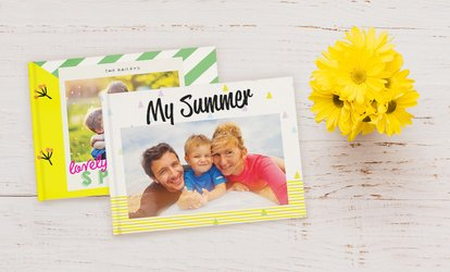 40-Page Personalised Photobook with a Choice of Size from Photobook Emirates (Up to 66% Off)