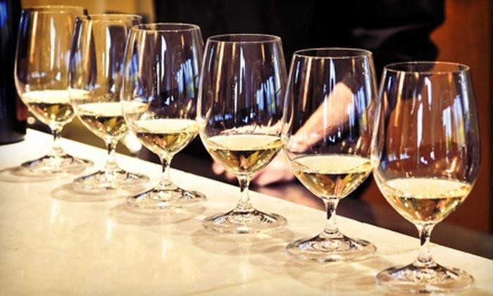 Pinot Wine Bar and Bistro - Fresno: Wine Flight for Two or Four at Pinot Wine Bar and Bistro (Up to 53% Off)