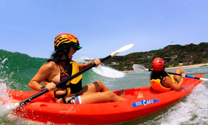 Cape Byron Kayaks - : $32.50 (Plus $4 National Park Levy) for a Three-Hour Dolphin Kayaking Tour with Cape Byron Kayaks, Byron Bay ($65 Value)