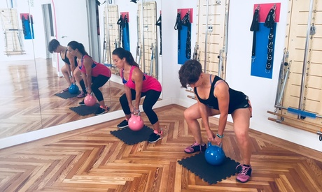 1 o 3 meses de entrenamiento alta intensidad PusHIT 4 u 8 clases al mes desde 24,95 € en Pilates enunIMPULSO