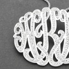 50% Off Designer Monogram Necklace